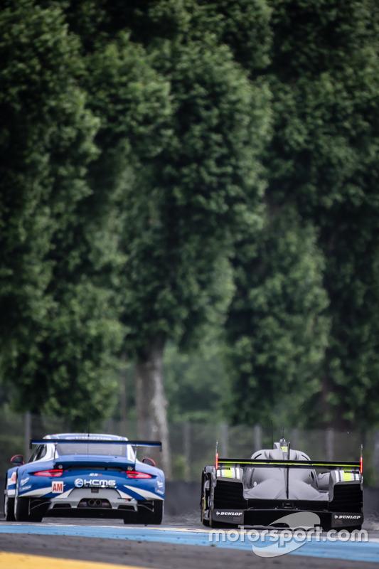 #78 KCMG Porsche 911 RSR: Крістіан Ріід, Вольф Хенцлер, Жоель Каматьяс, #4 ByKolles Racing CLM P1/01