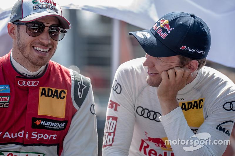 Edoardo Mortara, Audi Sport Team Abt Sportsline, Audi RS 5 DTM, Mattias Ekström (SWE) Audi Sport Tea