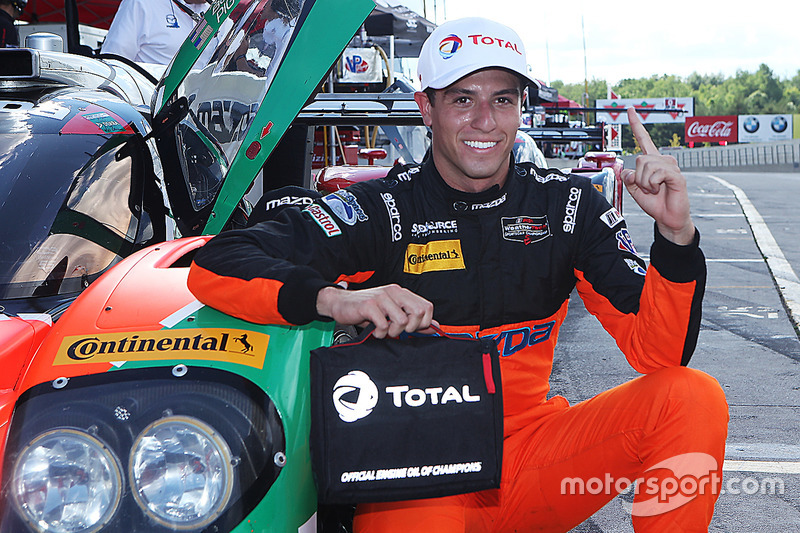 Polesitter Tristan Nunez, Mazda Motorsports