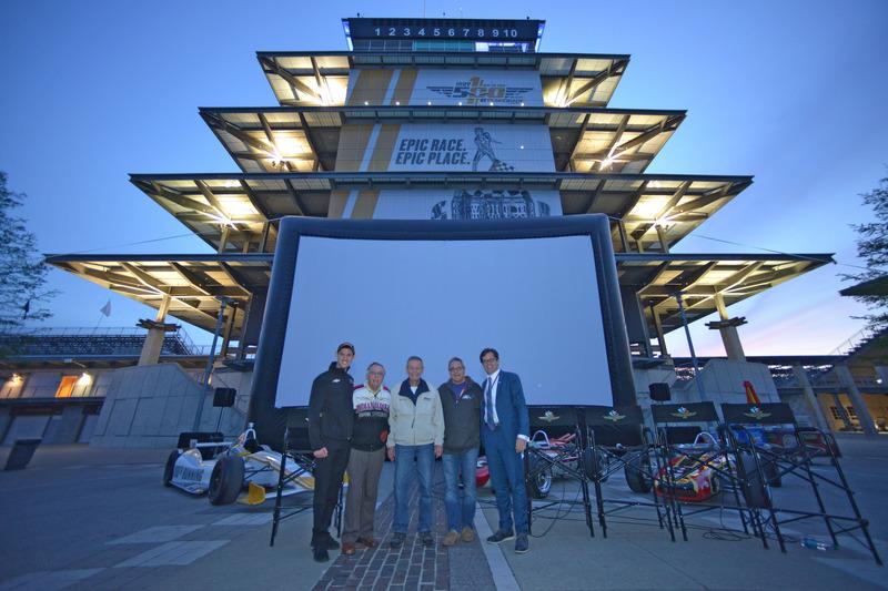 Bobby Unser, Matt Brabham, Doug Boles und