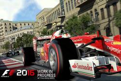 Sebastian Vettel, Ferrari, F1 2016 oyunu
