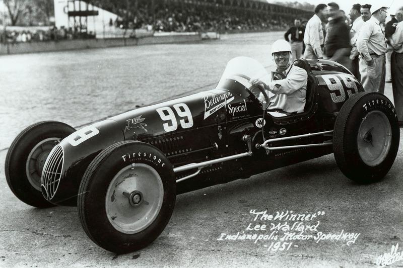 Lee Wallard (Kurtis Kraft) - Indy 500 1951