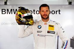Special helmet design of Martin Tomczyk, BMW Team Schnitzer