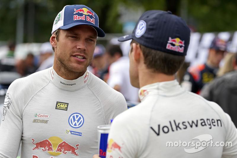 Andreas Mikkelsen, Sébastien Ogier, Volkswagen Motorsport