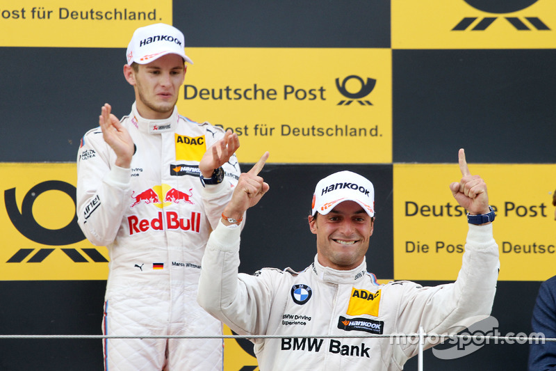 Podium: third place Bruno Spengler, BMW Team MTEK, BMW M4 DTM