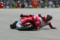 Carlos Checa, Yamaha Team crash
