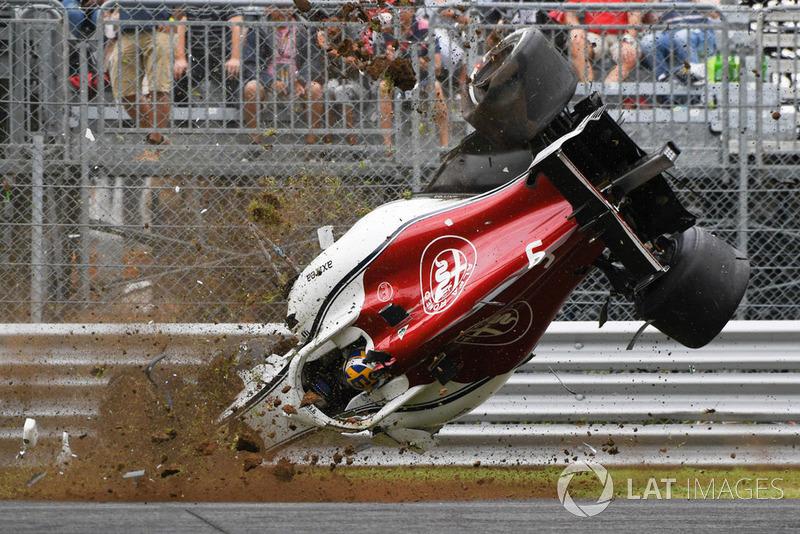 Accidente de Marcus Ericsson, Sauber C37