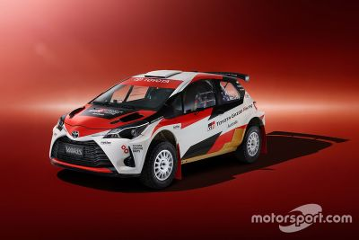 Presentación del Toyota Australia rally