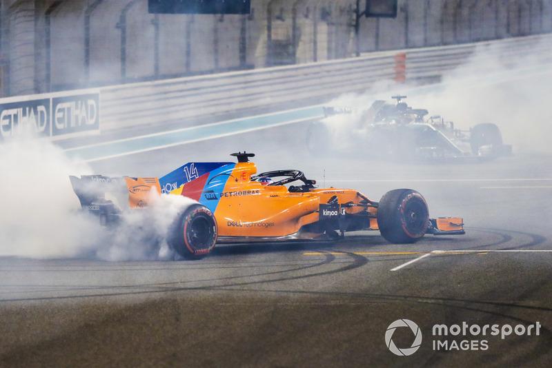 3) Fernando Alonso, 2018 Abu Dhabi Grand Prix