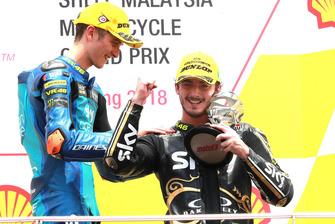 Luca Marini, Sky Racing Team VR46 Francesco Bagnaia, Sky Racing Team VR46