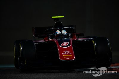 Formel-2-Test in Abu Dhabi