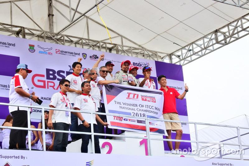 Toyota Team Indonesia, juara nasional ITCC 2018