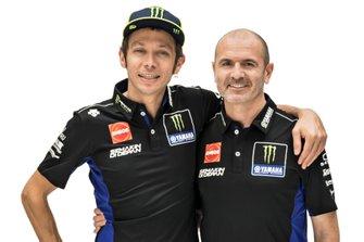 Valentino Rossi, Yamaha Factory Racing, Maio Meregalli, Yamaha Factory Racing team manager