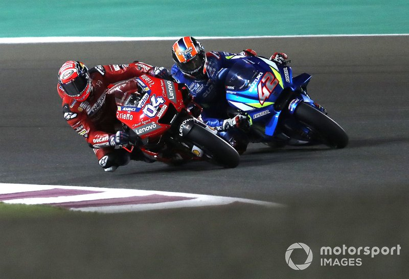 Andrea Dovizioso, Ducati Team, Alex Rins, Team Suzuki MotoGP