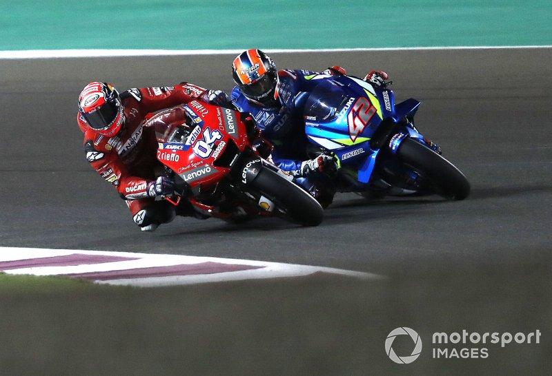 Андреа Довіціозо, Ducati Team, Алекс Рінс, Team Suzuki MotoGP