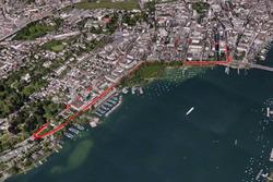 L'idea di tracciato per l'ePrix di Zurigo