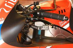Jorge Lorenzo, Ducati Team: Bremshebel