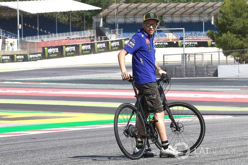 Valentino Rossi, Yamaha Factory Racing, in der neuen Kurve 13
