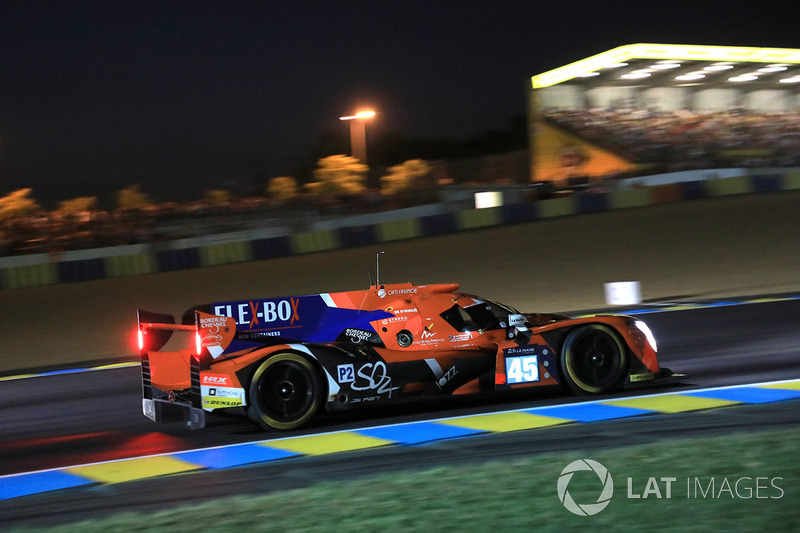 15. LMP2: #45 Algarve Pro Racing, Ligier JS P217 Gibson