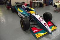 Jordan 195, на якому Рубенс Баррікелло посів друге місце на Гран Прі Канади 1995 року
