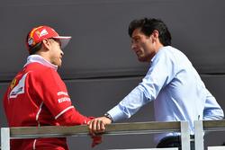 Sebastian Vettel, Ferrari and Mark Webber