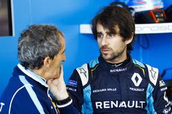 Nicolas Prost, Renault e.Dams, with Alain Prost