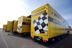 Dunlop-Lastwagen