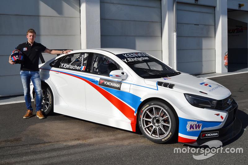 Ян Эрлаше, RC Motorsport Lada Веста