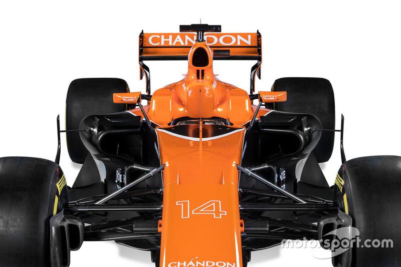The McLaren MCL32 detail
