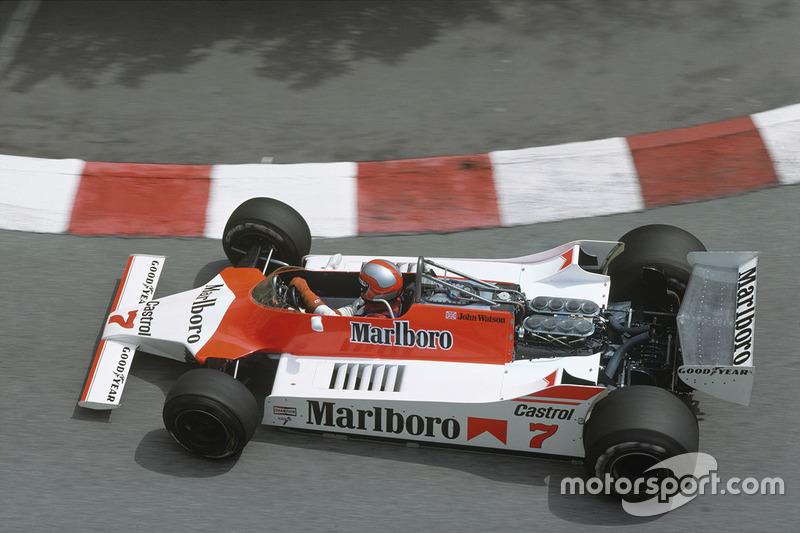 John Watson, McLaren M29C-Ford Cosworth