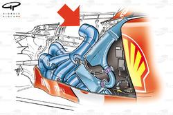 Ferrari F2005 (656) 2005 exhaust packaging