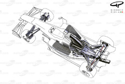 Red Bull RB5 2009 cutaway detail view