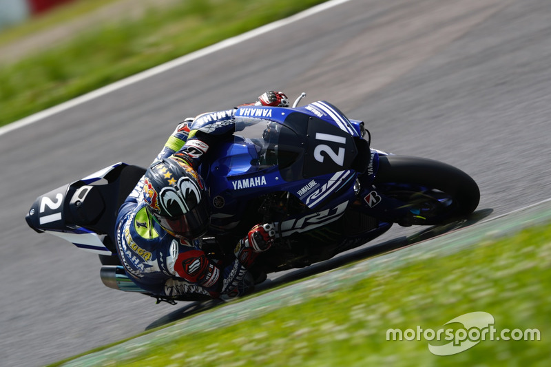 #21 Yamaha Factory Racing Team: Katsuyuki Nakasuga, Alex Lowes, Michael van der Mark