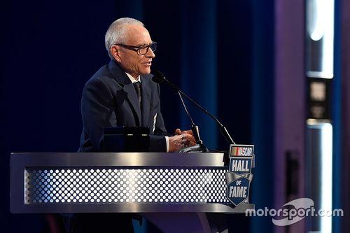 Aufnahme in die NASCAR Hall of Fame 2017