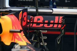 Red Bull Racing RB13 rear wing detail