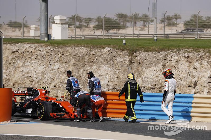 car of Stoffel Vandoorne, McLaren MCL32
