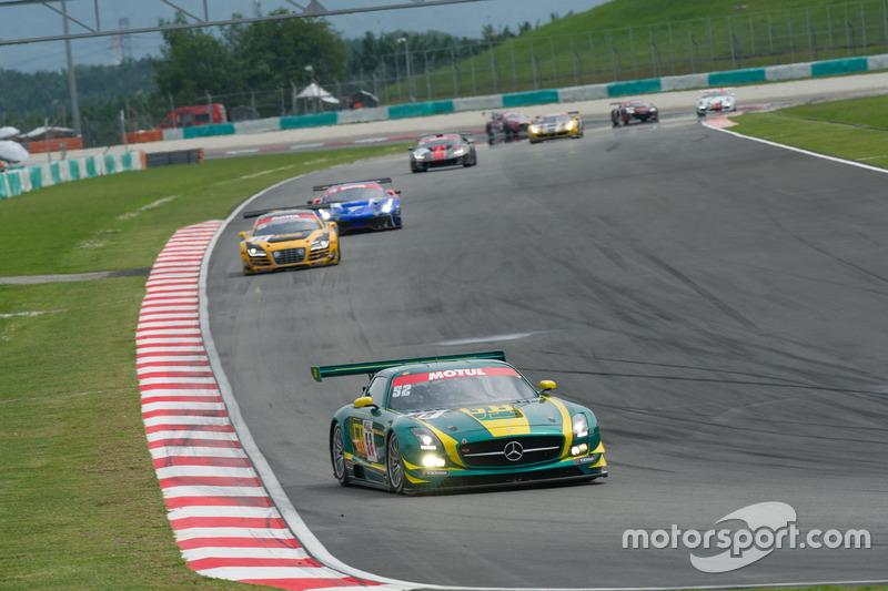 #52 SAITAMA TOYOPET Green Brave, Mercedes-Benz SLS AMG GT3, Taku Bamba, Takayuki Hiranuma, Naoki Hattori, Shogo Mitsuyama