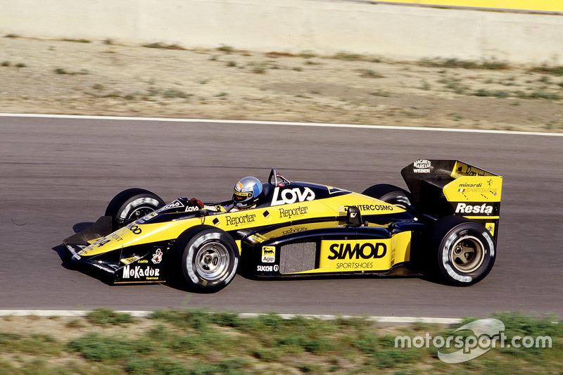 #24 : Alessandro Nannini, Minardi M187, Motori Moderni