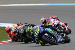 Valentino Rossi, Yamaha Factory Racing, Johann Zarco, Monster Yamaha Tech 3, Marc Marquez, Repsol Honda Team