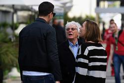 Bernie Ecclestone, Claire Williams, Williams Deputy Team Principal