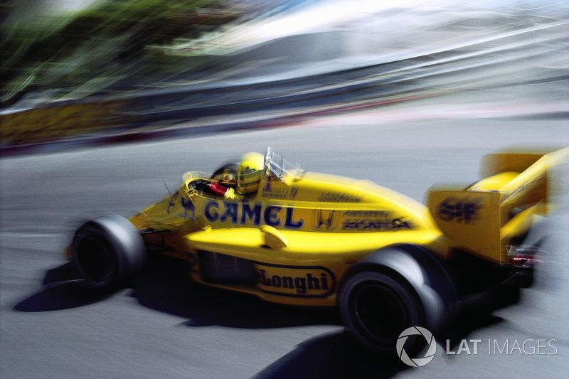 Senna también ganó 5 pole position y estuvo en el podio 8 veces en Mónaco