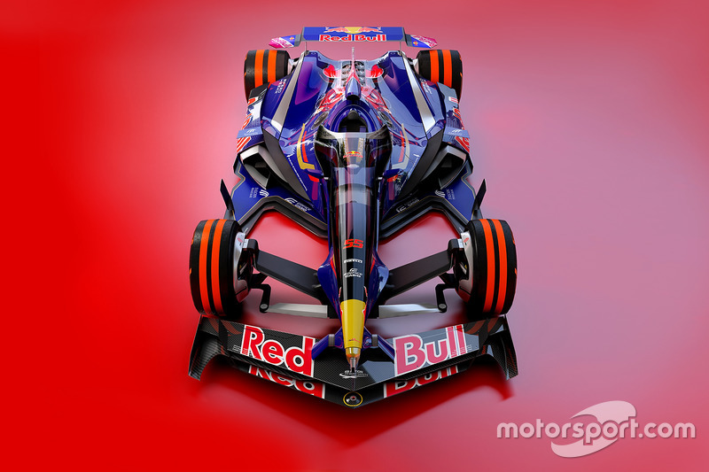 Toro Rosso 2030 fantezi tasarım