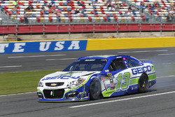 Casey Mears, Germain Racing, Chevrolet, nach Crash