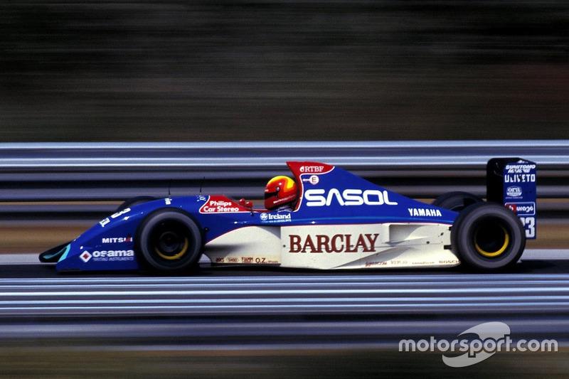Mauricio Gugelmin, Jordan, Yamaha 192