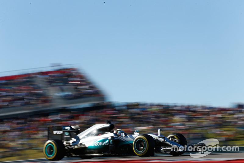 2016 - Austin: Lewis Hamilton, Mercedes F1 W07 Hybrid