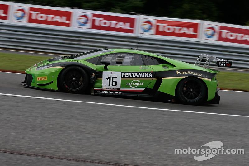 #16 GRT Grasser Racing Team Lamborghini Huracan GT3: Mirko Bortolotti, Jeroen Bleekemolen, Rolf Inei