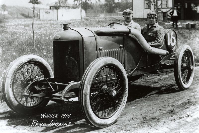 1914 - René Thomas, Delage