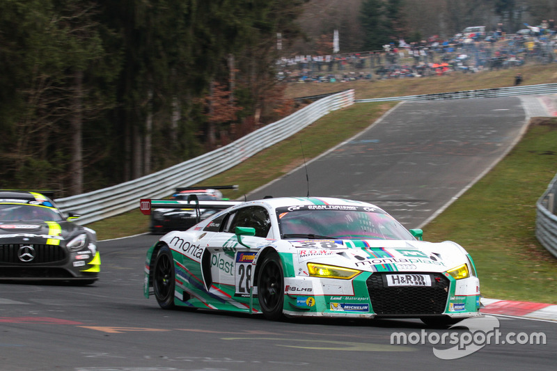 #28 Land Motorsport, Audi R8 LMS