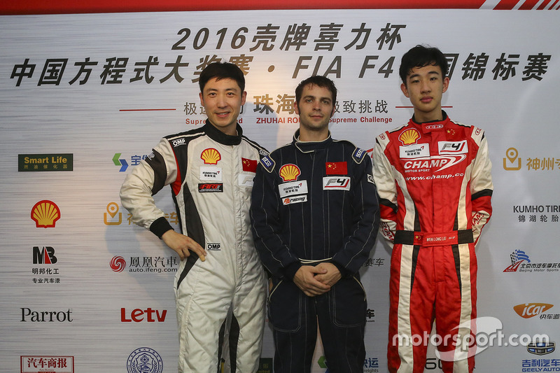 Chinese F4 qualifying top 3