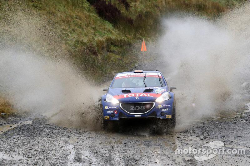 Jose Antonio Suarez Mirand, Candido Carerra Estevez, Peugeot Rally Academy, Peugeot 208 T16